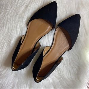 Charlotte Russe Black Flats Size 10